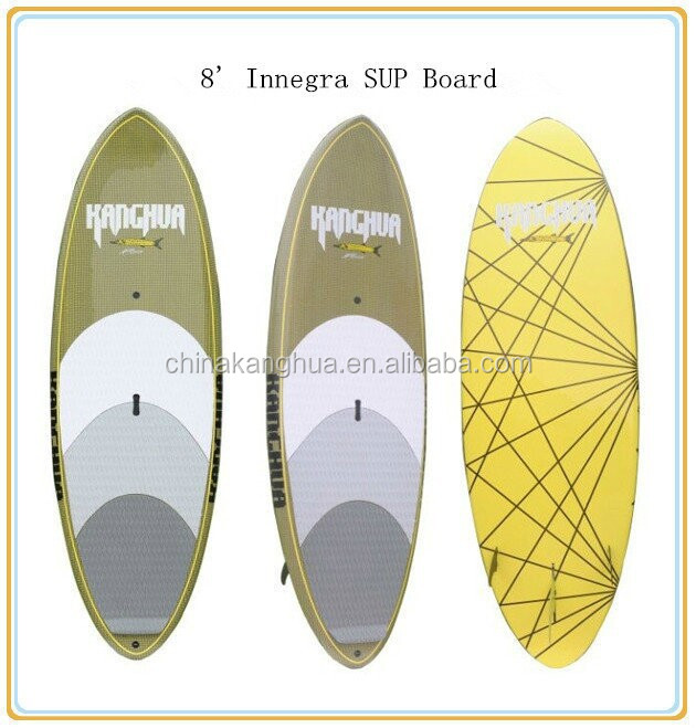 new innegra material surfboard/print graphic design SUP board made in China