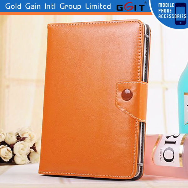 Leather Flip Case For Tablet 7 inch