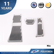 Aluminium alloy Gas and Brake Pedal for BMW X5 E70 2007+ Accelerator pedals (M type) Auto accessories from Pouvenda
