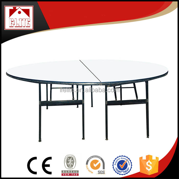 Folding used round banquet tables for sale