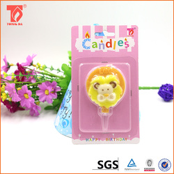 wholesale promotional products china novelty birthday cake candles/garden candle