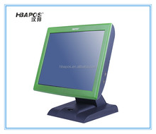 LCD touch screen machine direct touch pos all one machines