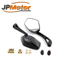 JPMotor universal side view mirror motorcycle cruiser chopper side mirror 8mm 10mm