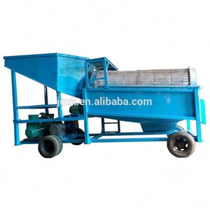 Sand washing machine trommel drum screen with high capacity