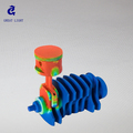 mechanical CNC Prototyping and production for for product toy design, nylon 3d print prototype