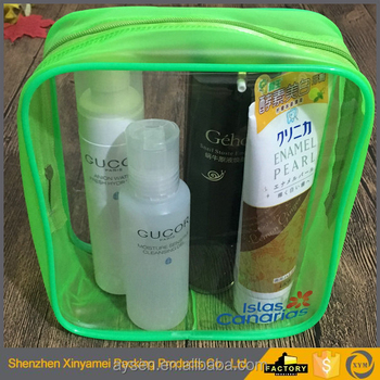 transparent pvc vinyl stand up pouches with zipper/Packaging clear pouches vinyl/ vinyl eva frosted pvc bag for cosmetic package