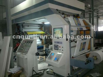 4colors High speed Flexographic Printing Machine