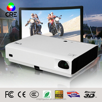 CRE X2500 miniprojector active shutter 3d beamer proyector dlp with TF card,hdmi,usb,vga,carry bag,shutter 3D glasses