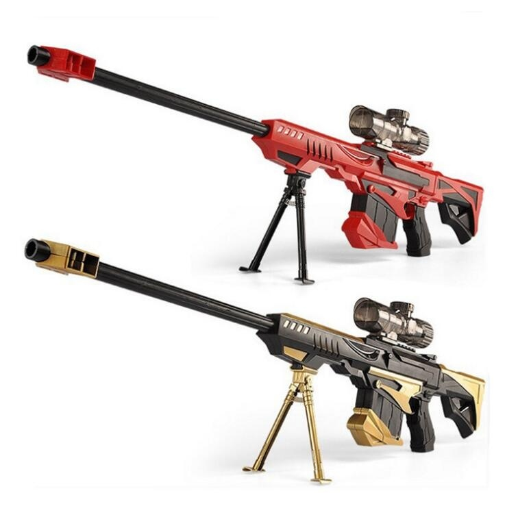 Blaster Toy Water Bullet <strong>Gun</strong> Children's Barrett sniper rifle can launch outdoor CS toy water <strong>gun</strong>