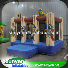Excellent quality Inflatable Tree Brown Trampoline bungee launch