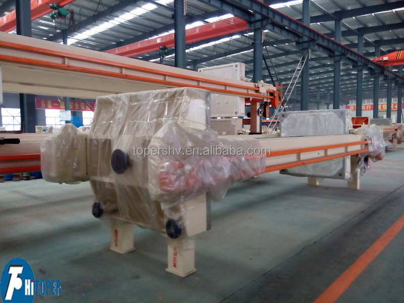 Mineral used filter press, filter press for copper sludge