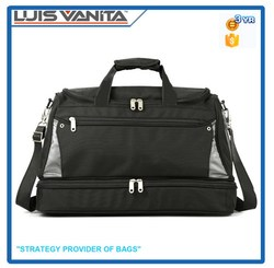 Large Black Golf Travel Bag