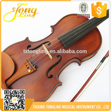 High Quality Flamed Matte Violin Brand Student German Violin 4/4