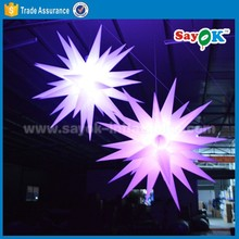 wholesale led inflatable star balloons decoration light for wedding