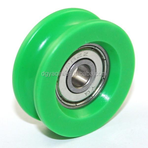v groove roller for guide tracks plastic bearing roller pom bearing wheel buy v groove roller. Black Bedroom Furniture Sets. Home Design Ideas