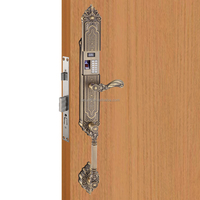 Luxury biometric fingerprint door lock