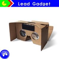 Durable in use custom google cardboard 3d glasses virtual reality for promotion gift vr box vrarle