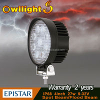 Strong 100% Waterproof 27W LED Motorcycle Lights