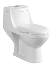 CB-9078B India Style Toilet Siphonic One Piece Toilet Comfort height compact handicapped toilet