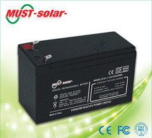 <MUST Solar>Value regulated Sealed Lead Acid batteries 12v 160Ah for UPS used