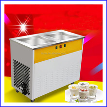 commercial fried ice cream machine price / fry ice cream machine /roll ice cream machine
