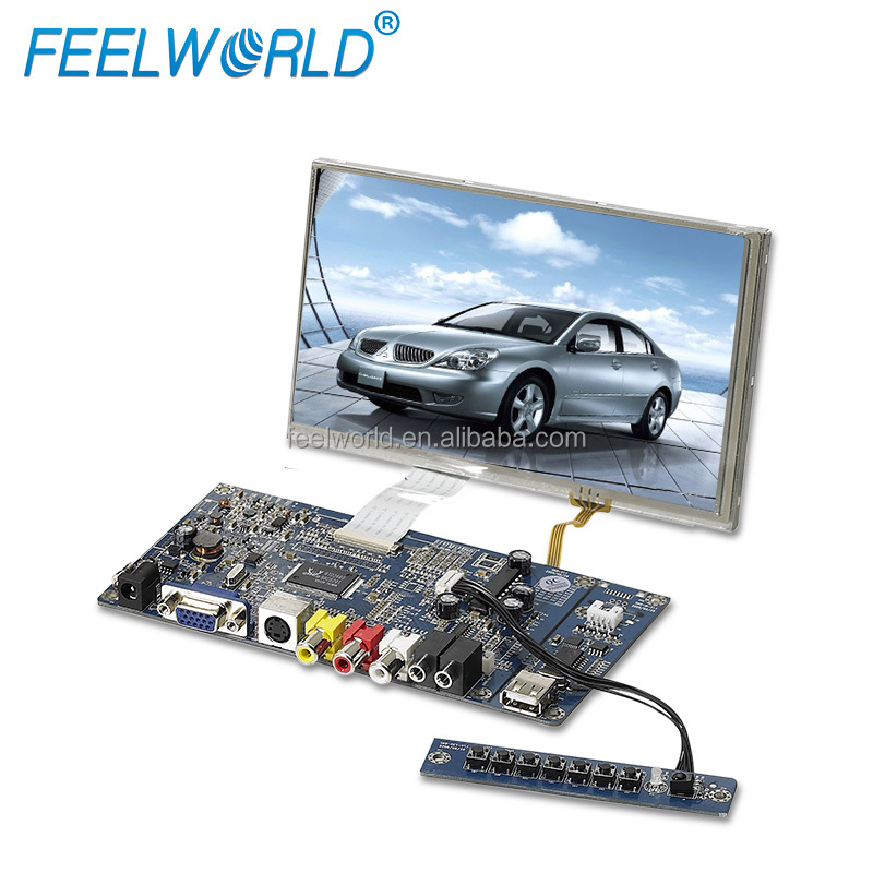 FEELWORLD LCD display 7 inch TFT 4 wire resistive touch screen