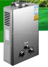 6L Different Type Instant Tankless Gas Water Heater Geyser for Hot Shower Water
