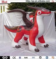 Popular giant inflatable red dragon for sale