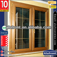 Good quality <strong>aluminium</strong> wood cladding casement window