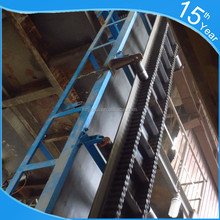 High Quality Large Angle Inclined Belt Conveyor for Resource Depot or Port