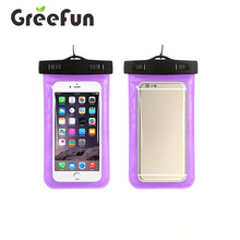 2017 Hot sales Wholesale Multifunction Waterproof Hanging Phone Bag Cell Phone Case (purple)
