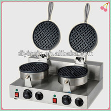 Electric Commercial waffle baker / waffle making machine