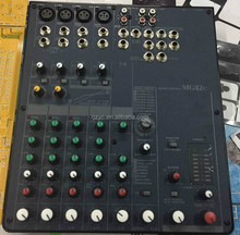 Professional audio mixer dj sound equipment MG82CX for perfect sound compact