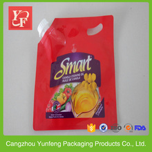 Alibaba wholesale clear plastic sauce packaging plastic bag