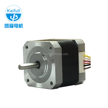 2 phase 6 line Nema 17 1.8 degree dc 24V stepper motor