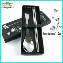 Cheap stainless steel spoon wedding birthday souvenir