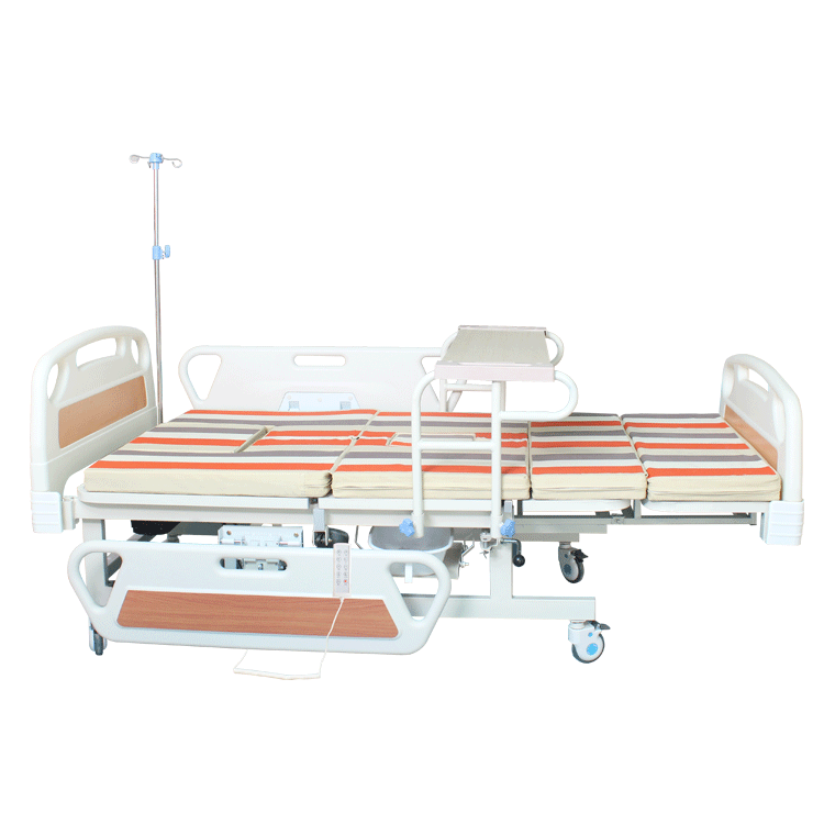 Multi-fucntion adjustable electric rotating hospital beds for home