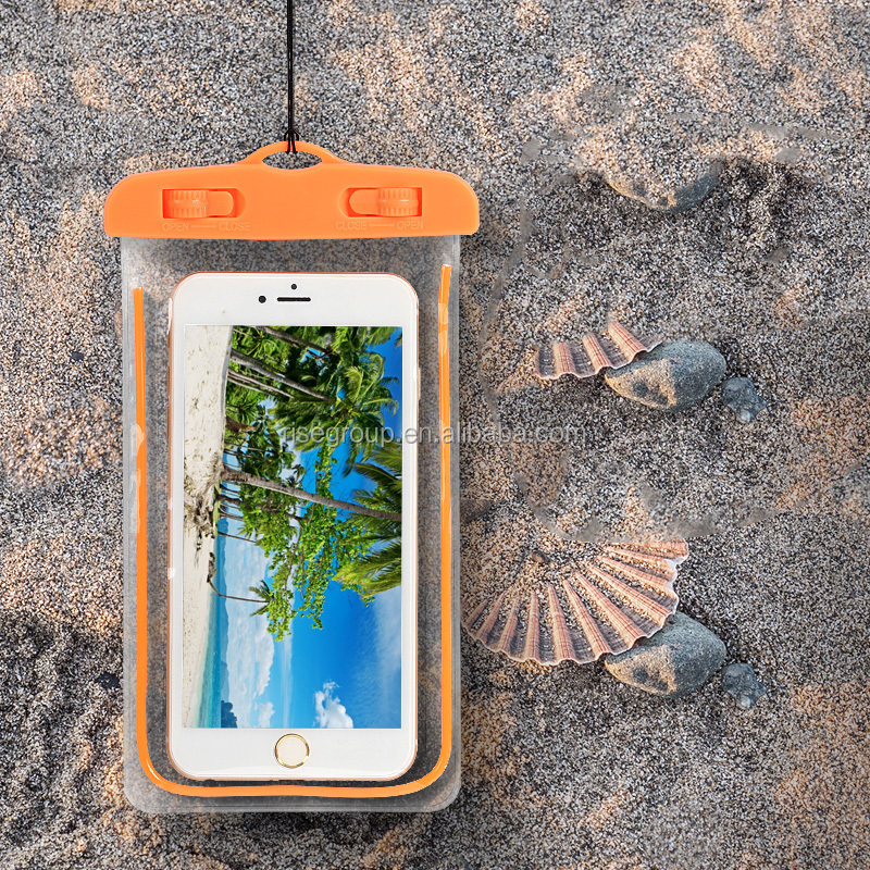 fit for all phones waterproof cell phone case