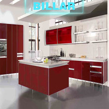 modern fiber cupboard kitchen pantry units