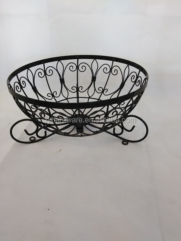 Iron wire Folding flower pot stand