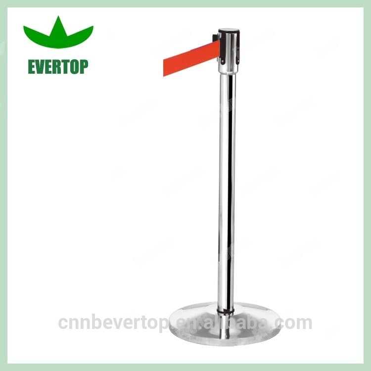 High Quality Museum Exhibition Barrier Stanchion, Queue up stand , Road Safety Barrier