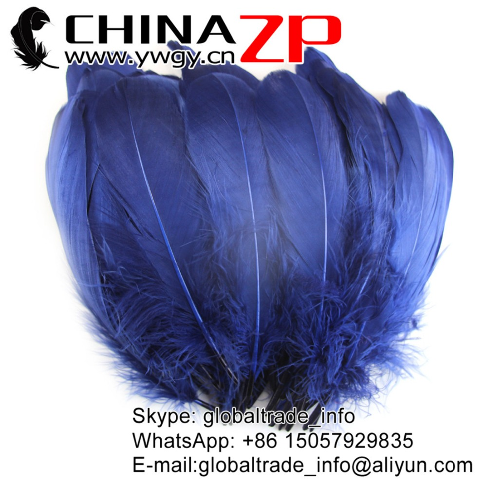 ZPDECOR Bulk Wholesale Extremely Beautiful Goose Nageoires Feathers for Sale