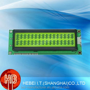 16x2 Character Negative Transflective Transmissive LCD Display Module In Blue 5V 3.3V