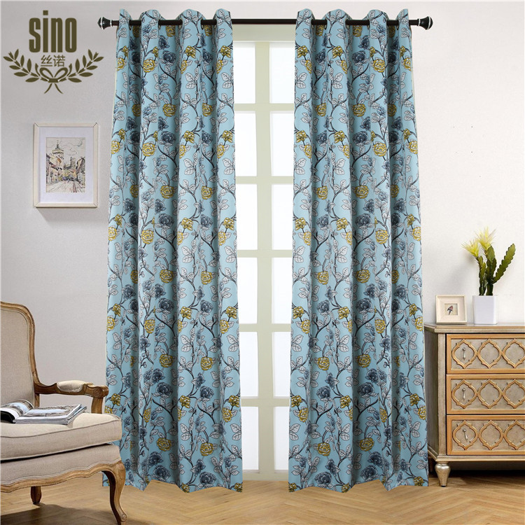 Special High Quality Custom Printing Blackout Designs Of Curtains