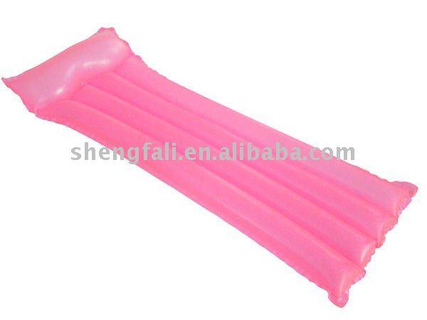 vente hot rose pvc gonflable matelas d 39 air plage produit. Black Bedroom Furniture Sets. Home Design Ideas