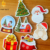 Custom Christmas EVA Foam Paper fridge magnet