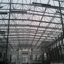 Economy And Durability Prefab Wide Span Steel Structure Space Frame Gymnasium Roof /Workshop Roof