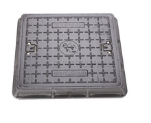 450*450 Square DMC fiberglass polymer manhole cover with excellent non-conducting