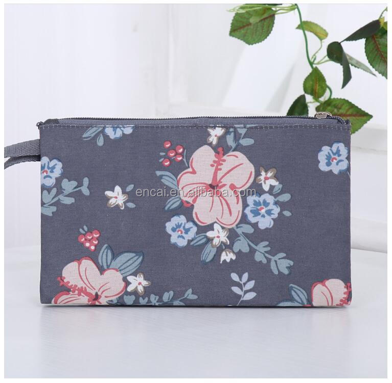 Encai Floral Organizer Bag Fashion Lady Storage Pouch