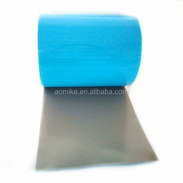 blue film double sided pe foam tape adhesive tape dongguan AMK manufacturer